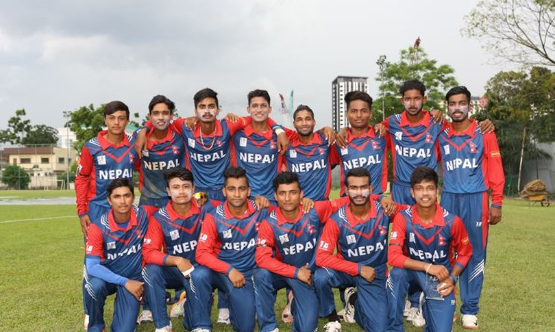 Nepal secures win against Oman in the ICC Asia U-19 World Cup Qualifier match