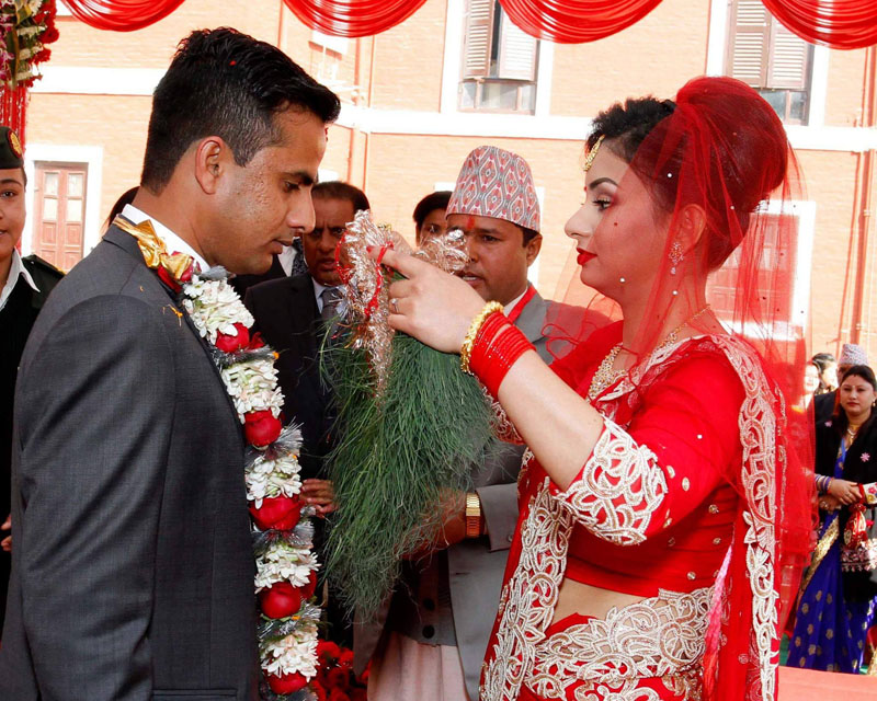 Various VVIPs attended in the wedding ceremony of the youngest daughter of President Bhandari