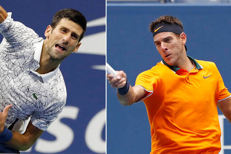 Djokovic and Del Potro set for big clash of styles in US Open final