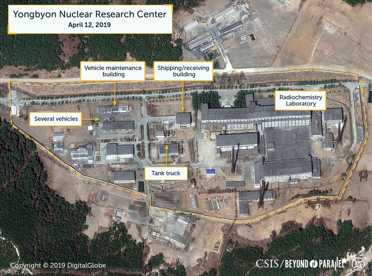 Satellite images may show reprocessing activity at North Korea nuclear site - U.S. researchers