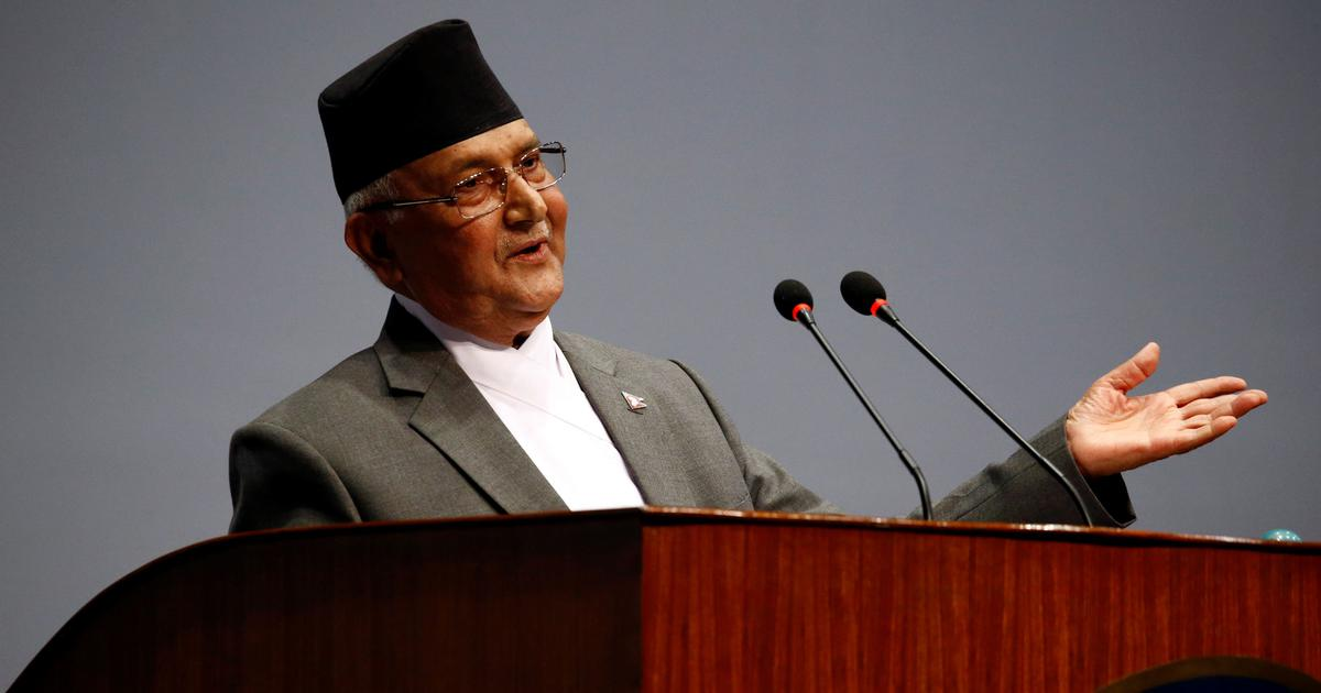 Prime Minister Oli's vote of confidence proposal failed from the parliament