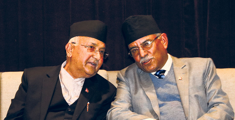 Oli-Dahal Agree To Continue Talks By Ceasefire Activities Against Each Other