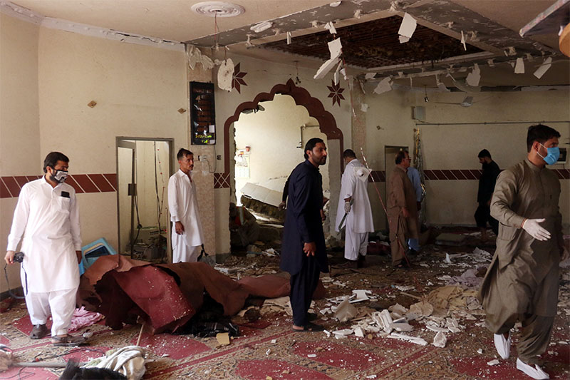 Brother of Afghan Taliban leader killed in Pakistan mosque blast