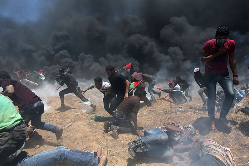 Israeli forces kill 41 in Gaza protests as anger mounts over U.S. Embassy