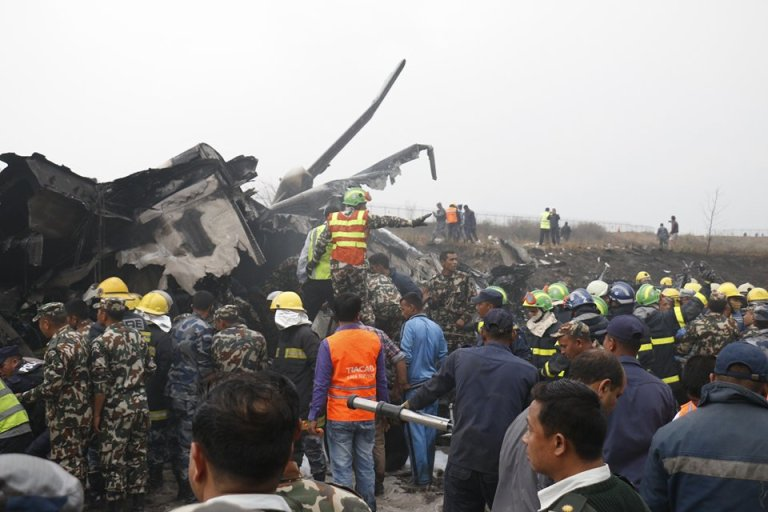 At least four dozen fear dead when a US-Bangla Airlines crashed at TIA