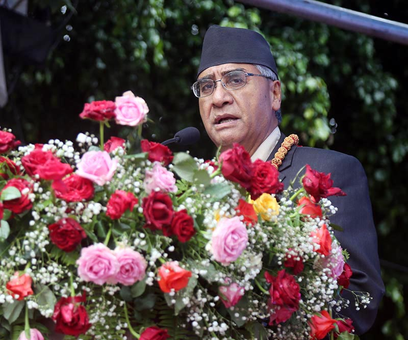 Yoga method must be taught to students at the school level: Prime Minister Deuba