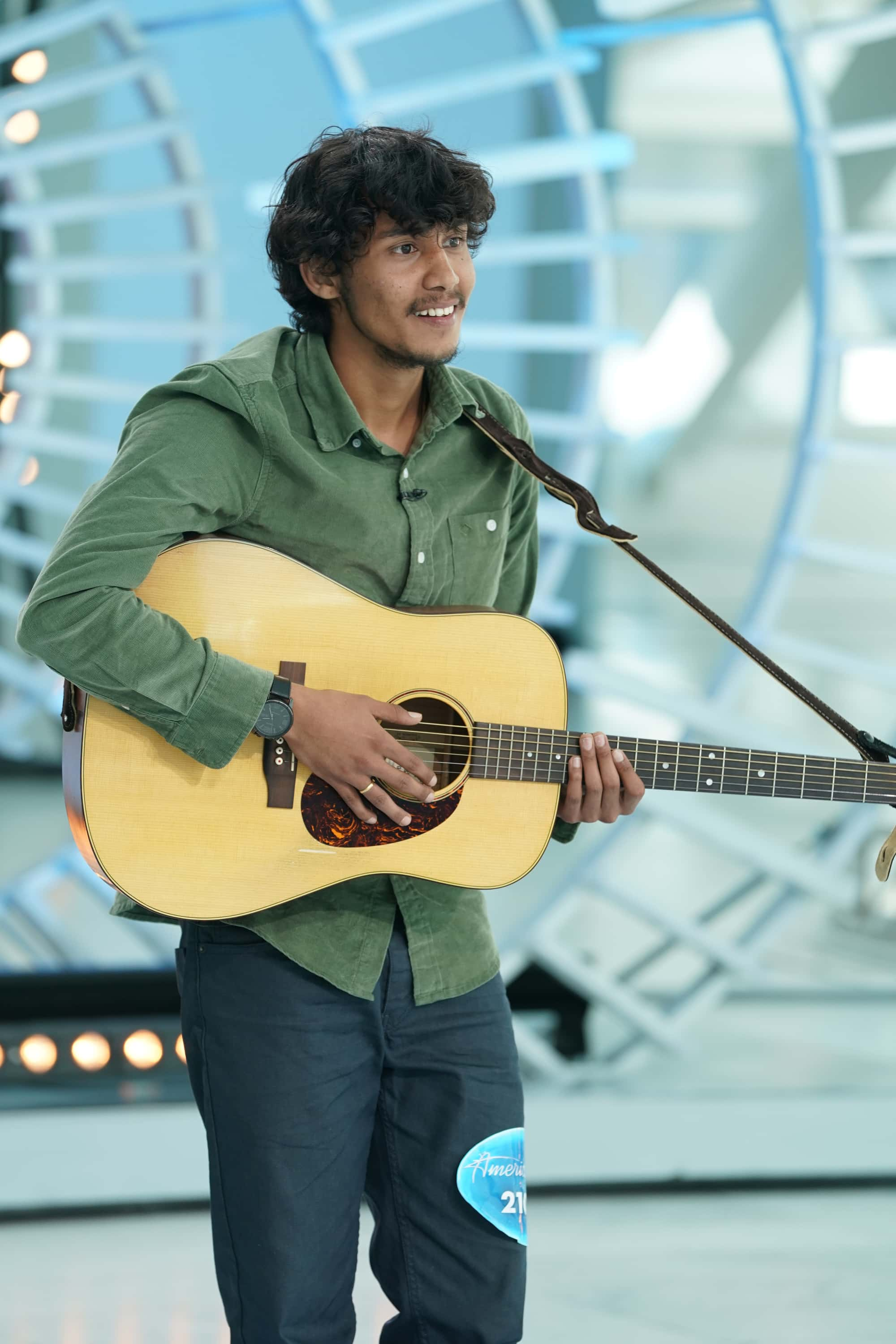 Arthur Gunn Dibesh Pokhrel Wins Second Runner-up Title in 'American Idol'