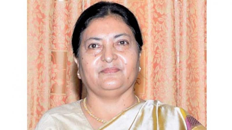 President Bhandari to embark five day state visit to Indian from today