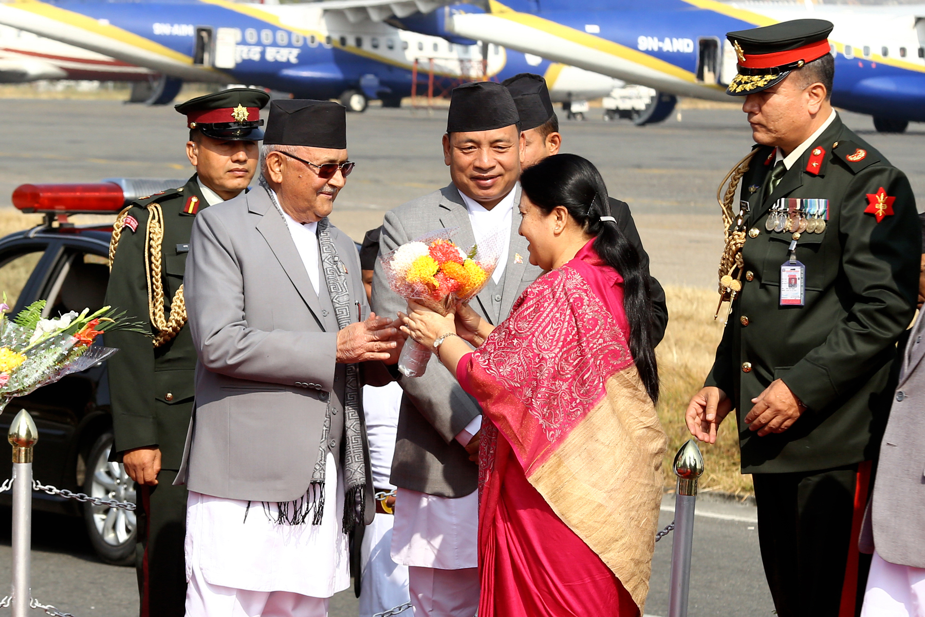 President Bhandari returns home after participating COP24