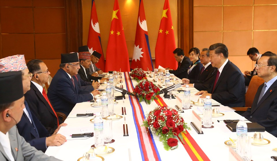 NCP leaders called on Chinese president Xi