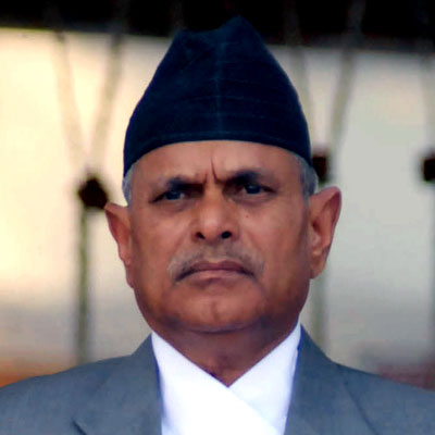 Former President Dr. Yadav unhappy over delay to implementat the constitution