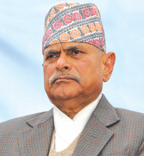 Former President Dr. Yadav urges parties for consensus