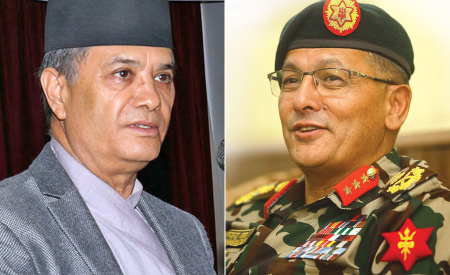 Meet Between CJ Rana and CoAS Thapa Sparks Speculations