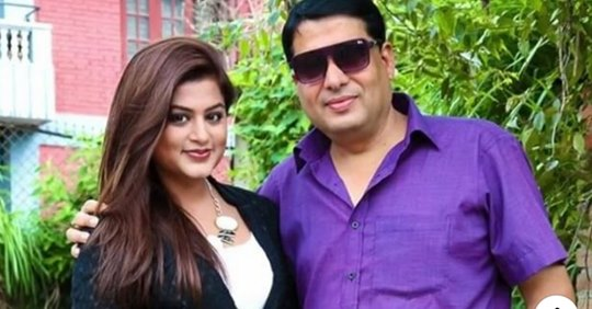Actress Shilpa Pokhrel files domestic violence case against of her husband Ojha