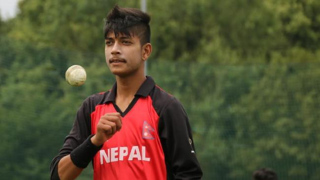 Nepali leg-spinner Sandeep Lamichhane bought in 2 million Indian currency to play in a single match