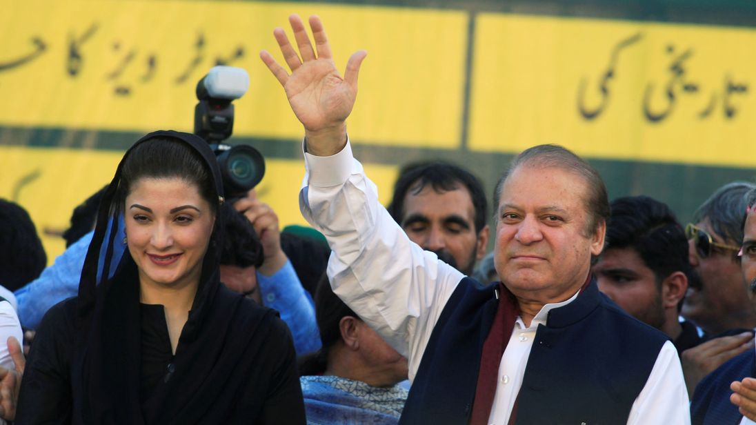 Pakistan court orders release of former PM Nawaz Sharif on bail