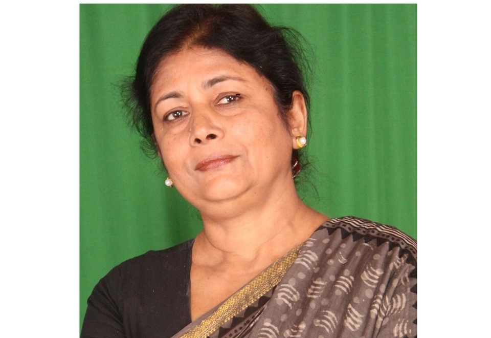 JSP sacks Sarita Giri from the post of lawmaker and the general member of the party