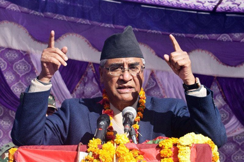 Nepali Congress must garner majority to institutionalize democratic republic in the Country: Prime Minister Deuba