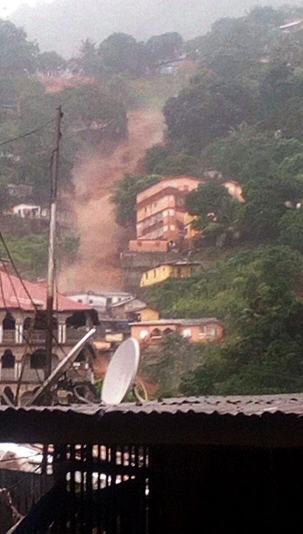 200 dead in Sierra Leone mudslides