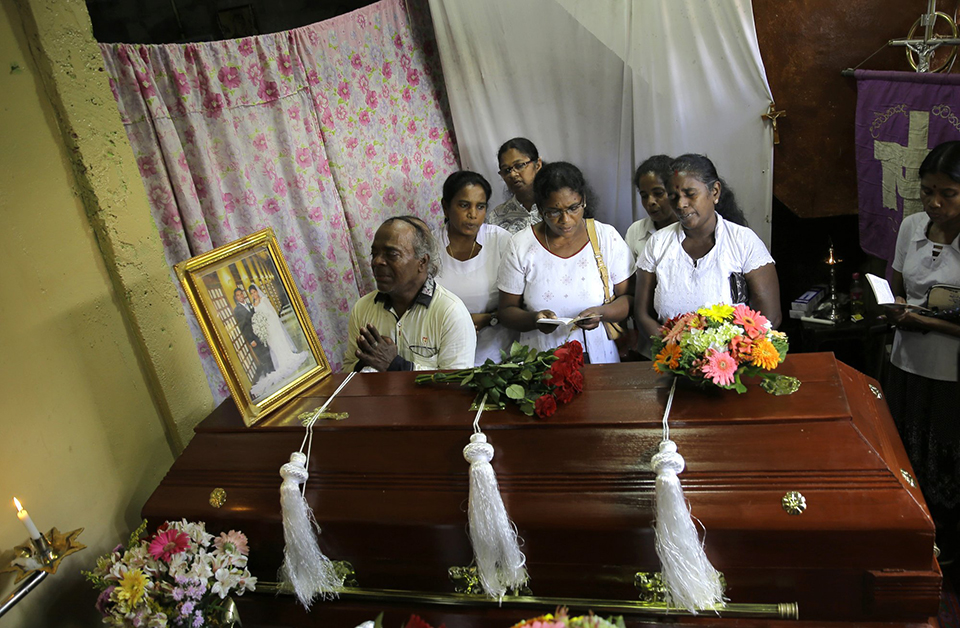 Sri Lanka minister: Easter bombings a response to NZ attacks
