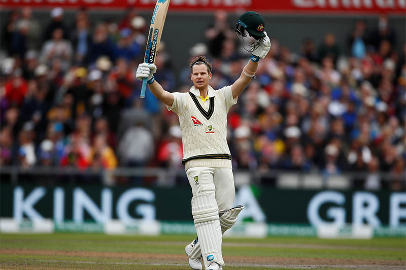 Magnificent Smith reaches third ton of Ashes series
