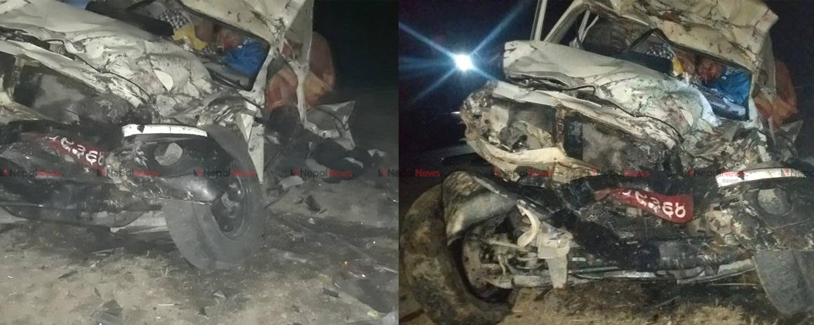 Seven killed in Sunsari ambulance accident