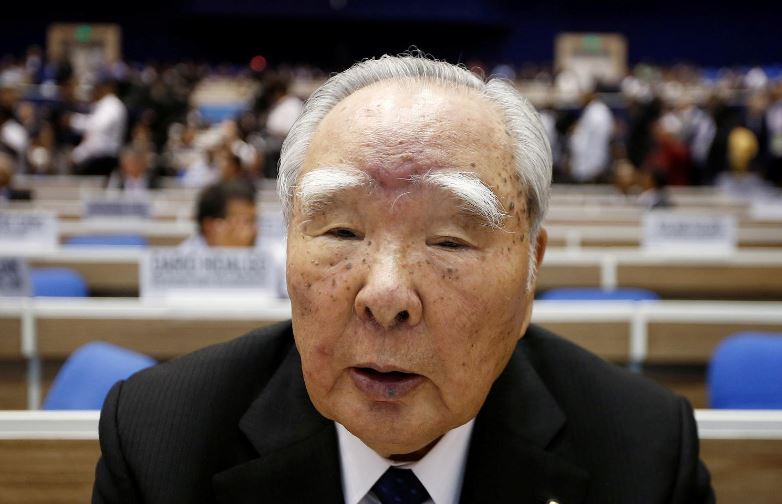 Suzuki Motor says 91-year-old chairman to retire