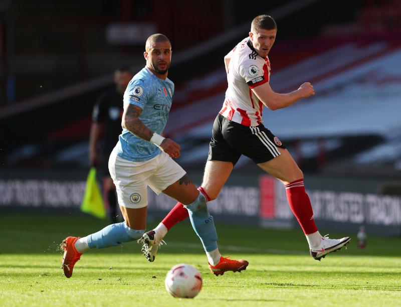Walker's homecoming strike gives Man City 1-0 win at Sheffield United