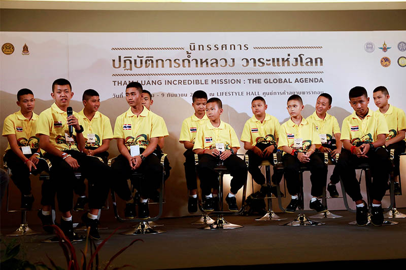 Thousands to feast royally to fete Thai cave boys' dramatic rescue