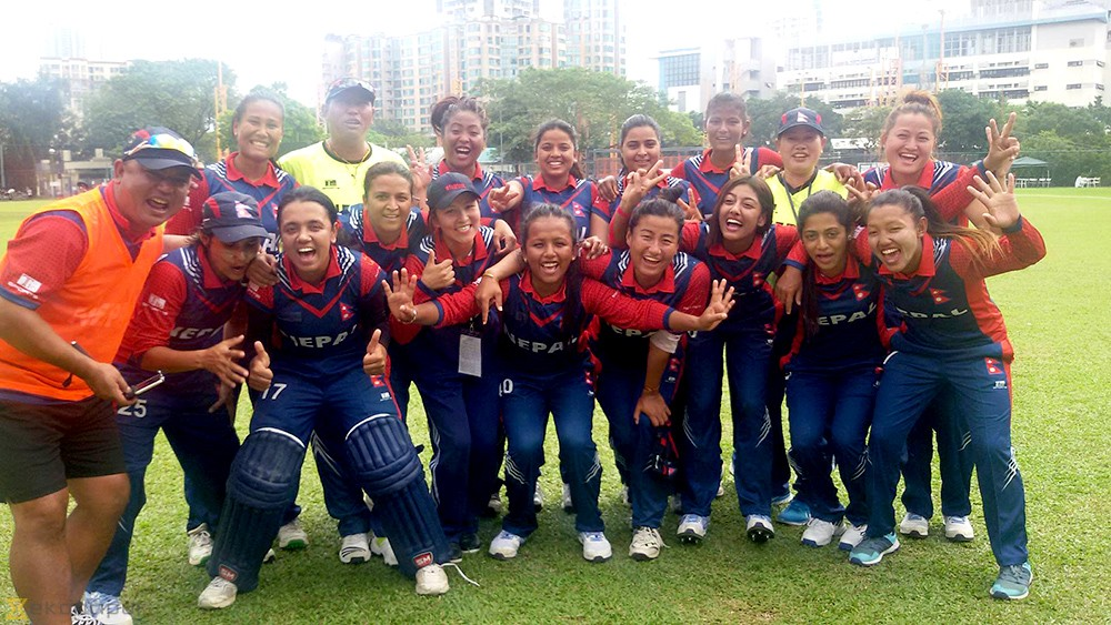 Nepal women's cricket team defeats China by 4 wickets